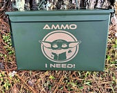 Personalized Ammo Box We can use YOUR DESIGN Military, Patriotic gift, Gift for Men, Groomsman Gift, Heavy Duty Free Shipping!