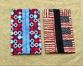 4th of July Kleenex Holders with Tissues