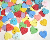 200 Herb Seed Bomb Hearts Plantable Seed Paper Confetti Hearts Wedding Favors Basil Dill Chives Parsley Thyme Oregano