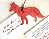 20 Plantable Flower Seed Paper Foxes Woodland Wedding Favors