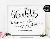 Wedding Blankets Sign, Blankets Please Take One Sign, Outdoor Wedding Signs Printable Winter Wedding Signs Wedding Blanket Favors For Guests