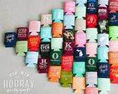 Wedding Favors, Personalized Can Cooler, Wedding Can Cooler, Favors for Weddings, Custom Wedding Favor, Beer Cooler, Wedding Reception Favor