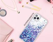 Blue Pink glitter Phone case iPhone Xs case iPhone Xs Max case iPhone XR case iPhone x case iPhone 8 case iPhone 8 Plus case iphone 11 case