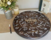 Alternative Wedding Guest book, Established Sign, Wedding Guest Book Sign, Mr and Mrs sign, Wedding Date Wood Sign