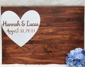 Wedding guest book, wood guest signing board, Wedding decor, Wedding guest book, Wedding guest book sign, wood wedding guestbook