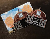 save the date magnet Rustic/ farm save the date/ country save the date magnet