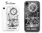The Moon iPhone Case Clear Tarot Card iPhone Case iPhone 11 Pro Case iPhone XS Max Case iPhone XR Case Phone Cover