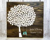 Tree Guest Book, Wedding Guest Book Alternative, Guest Book Tree, Tree Wedding Guest Book, Wedding Guest Book Tree, Wedding Shower Gift