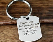 Engraved Father Key Chain, Keychain for Dad, Gift for Dad, Laser Engraved Keychain, Father of the Bride Gift, Fathers Day Gift