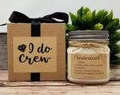 Bridesmaid Candle 8oz Soy Candle Bridesmaid Proposal Gift Bridal Party Gift Bridesmaid Definition Bridesmaid Proposal Box