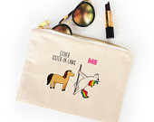 Funny Sister In Law Makeup Bag, Sisterinlaw Birthday Gift, Sister In Law Wedding Cosmetic Bag