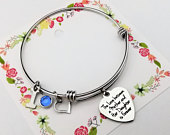 DAUGHTER GIFT From Mom, Daughter Gift from Mother, Gift for Daughter from Mom Mother,Wedding gift for Bride from Mother, Bride Gift Bracelet