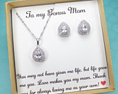 Stepmother Gift, stepmom wedding gift, mother of bride gift,Bonus mom wedding gift, Stepmother of the Groom Gift, Gifts for Step mom
