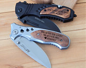 Stepfather of the Bride Knife Gift from Groom Step Father Wedding Gift Step Dad Custom Gift