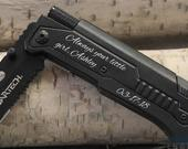 Father of the Bride gift, Gifts for Dad, Father Daughter gift, Unique Gifts for Men, Tactical Pocket Knife, Bride to Father, Dad gift