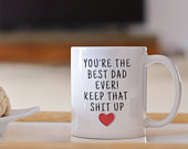 Dad Gift, Birthday Gift Dad, Gift from Daughter, Christmas Gift Dad Father Gift, Best Dad Ever, Best Dad Mug, Gift for Dad, Fathers Day Gift