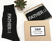 Father of the Bride Gift Socks Dad Socks Wedding Socks for Father of the Bride Gift from Daughter Father of the Bride Sock Label (EB3258GM)