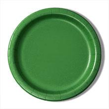 9 Emerald Paper Dinner Plates - Quantity: 8 - Household Supplies by Paper Mart