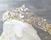 Bridal Tiara Swarovski Crystal Tiara SELINA Swarovski Bridal Tiara, Crystal Wedding Crown Rhinestone Tiara, Wedding Tiara