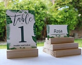 Wood Place Card Holder, Wedding Card Holder, Wedding card holder for receptions, Wedding invitation stands, Photo stand, Card Holder