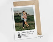 Editable Photo Save The Date Template Printable Edit Online Save The Date Invitation Easy to Edit! Edit Online Print Today
