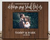 Wedding Gifts for Wife Personalized Wedding Gifts For Couple Wedding Gift Ideas Wedding Picture Frame Wedding Photo Frame Date 8119