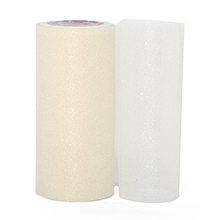 Sparkle Ivory Sparkling Tulle Roll - 6 X 25yd - Fabric - Width: 6 by Paper Mart