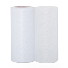 Sparkle White Sparkling Tulle Roll - 6 X 25yd - Fabric - Width: 6 by Paper Mart