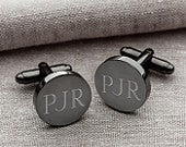 Personalized Cufflinks, Groomsmen Gift, Wedding Gift, Custom Cufflinks, Engraved Cufflinks, Gift for Him, Fathers Day Gift, GC1331
