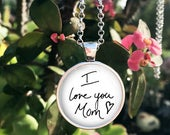 Custom Handwriting necklace YOUR Loved ones Handwriting or signature Childs Handwriting Loved Ones Handwriting handwriting charm