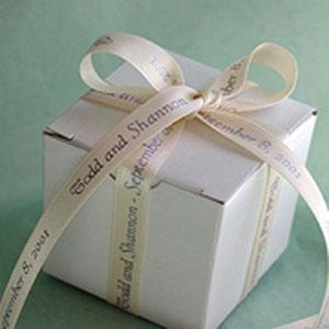 Personalized Ribbon (Continuous Double Face Satin 50 yard Roll)