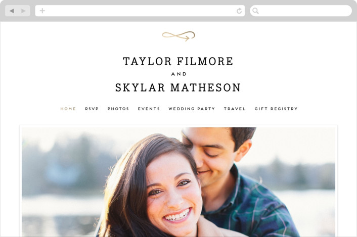 Modern Unity Wedding Websites