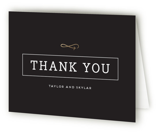 Modern Unity Foil-Pressed Thank You Cards
