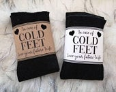 Gift for Groom Socks for Cold Feet Groom Box Gift for Husband to be Groom Gift Gift from Bride to Groom Funny Groom Gift