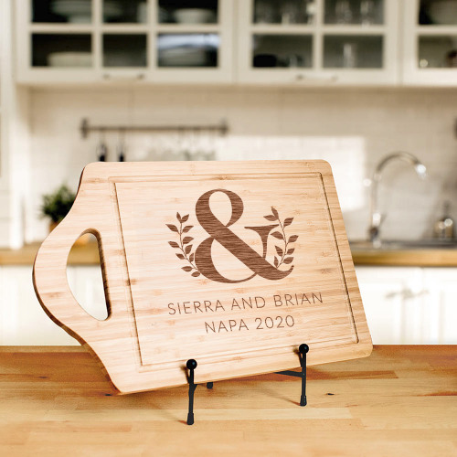Personalized Rectangle Bamboo Cutting Board