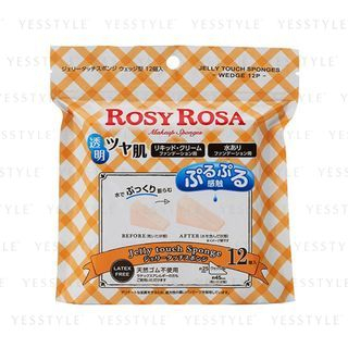 Chantilly - Rosy Rosa Jelly Touch Sponge Wedge Type 12 pcs