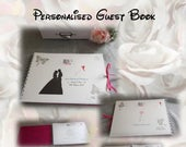 Personalised Wedding Day Guest Book