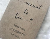 Personalised Seed Packets Envelopes Wedding Favours Vintage Meant To Bee Seeds For Bees