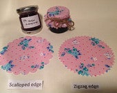 Jam jar covers Wedding X 50 twine/bands/labels