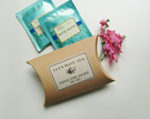 Bridal Shower Rustic Tea Favors, Lets Have Tea with Bride to Be, Tea Party Gift Favor Boxes,