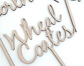 Wedding Table Names, Custom Table Numbers, Wedding Centrepieces, Wooden Table Numbers, Luxury Rustic Destination Table Sign,Laser Cut Names,
