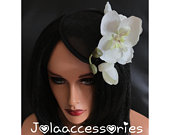 Black white flower hat fascinator hair clip races 40s flower fascinator hat wedding hair accessories church hat wedding fascinat