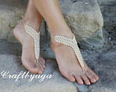 Barefoot sandals,Beach wedding shoes,Crochet Barefoot Sandals,Summer outdoors,Bridesmaid gift,Sexy Yoga,Wedding barefoot sandals,Beach Party