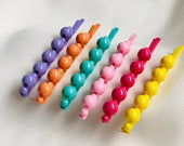 2020 NEW fashion COLOURFUL faux pearl multicolour Korean style Pearl Pins Clips Barrette Grips for Girls Oversized Large hair accessories