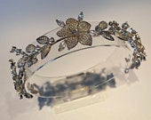 Bridal Headband Hairpiece Crystals Metal Hairstyle Wedding Style Brides