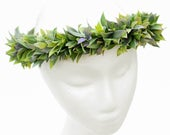 Eucalyptus flower crown / soft ruscus ideal for boho and elegant wedding