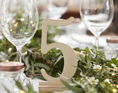 12 Wooden Table numbers, Wedding Table Numbers, Boho Table Numbers, Rustic Table Numbers, Party Table Numbers, Freestanding Table Numbers