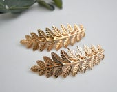 Grecian Style Gold Leaf Bridal Wedding Hair Clip/Hair Comb/Hair Accessory/Hair Pin