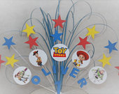 Toy Story Cake Topper Spray Cake Decoration Cake Stars on Wires 1st 2nd 3rd 4th 5th 6th any age any colour any theme stars 009
