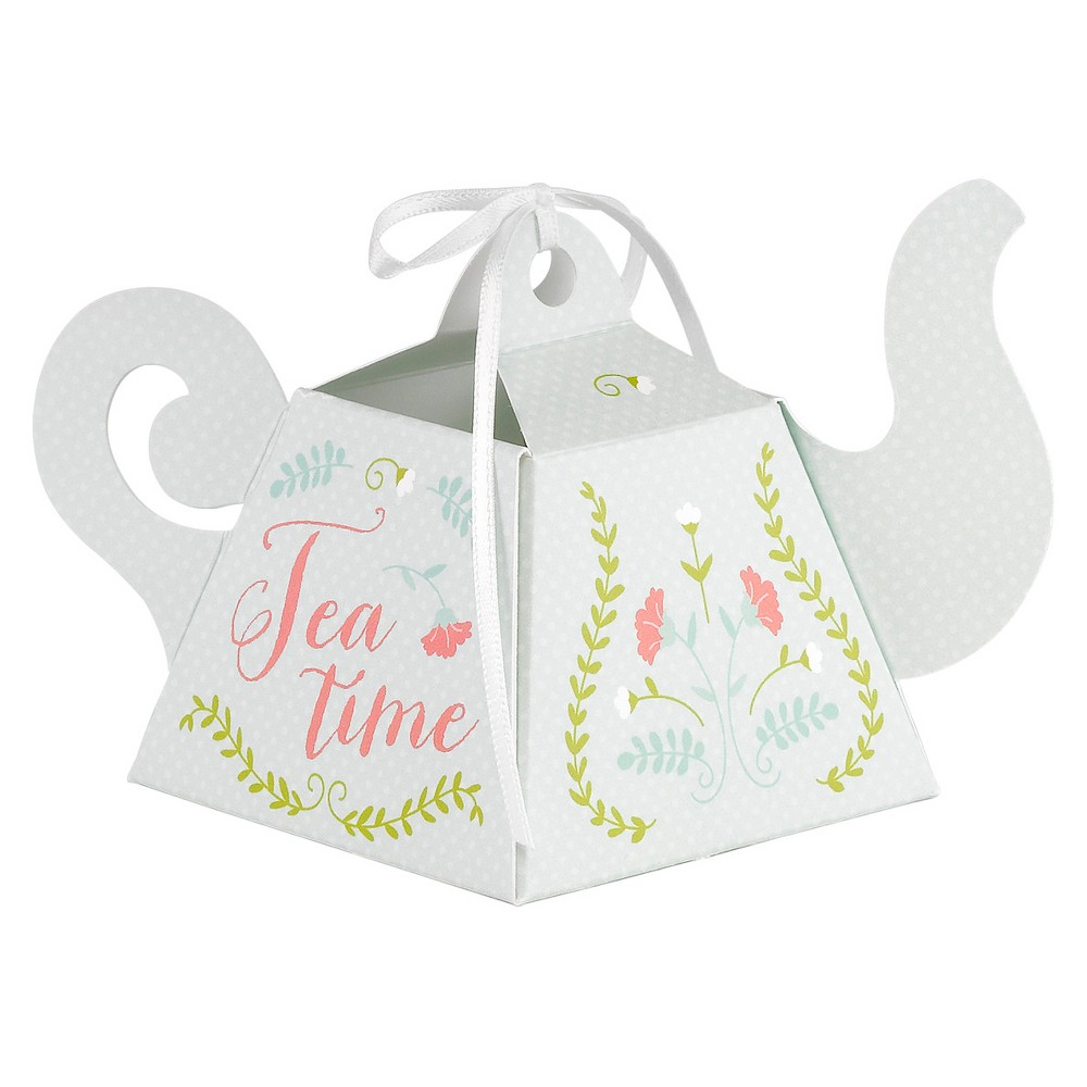 12ct Tea Time Favor Box, gift boxes
